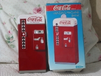 COCA COLA Vending Machine Bank Coke Unused 1995