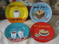 4 GODINGER Co  Decorative Porcelain Food Drink Plate