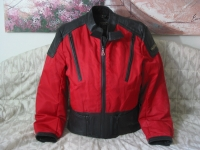 HEIN GERICKE Red Motorcycle Leather Jacket Coat Used