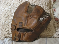 MACGREGOR GOLDSMITH Trapper Baseball Glove Mitt Antique