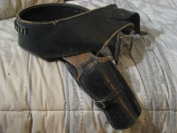 ARVO OJALA Antique Western Holster & Gun Belt .22 Sz 36